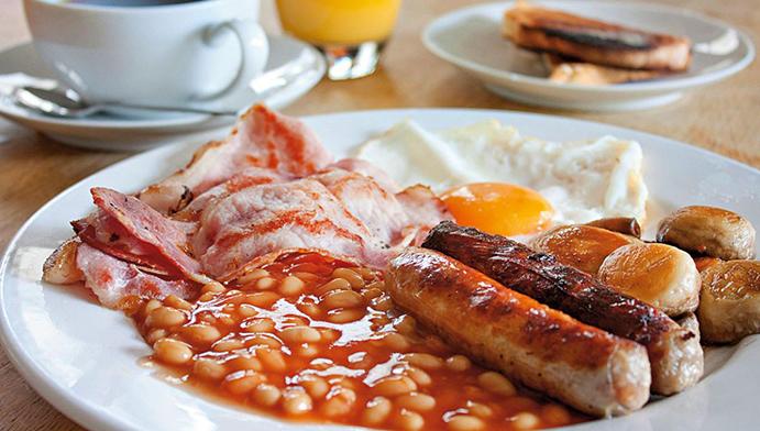English Breakfast อาหาร เช้า อังกฤษ
