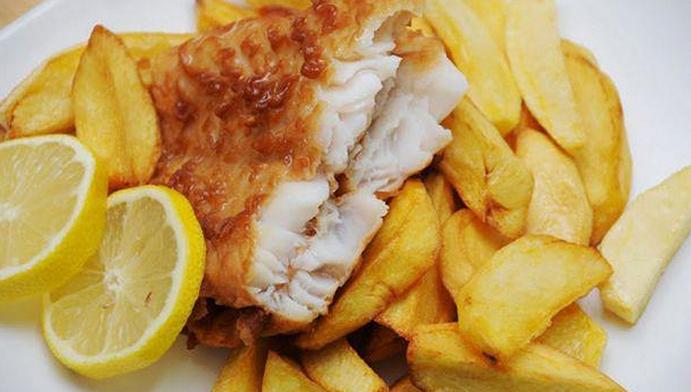 Fish and Chips อาหารคนอังกฤษ