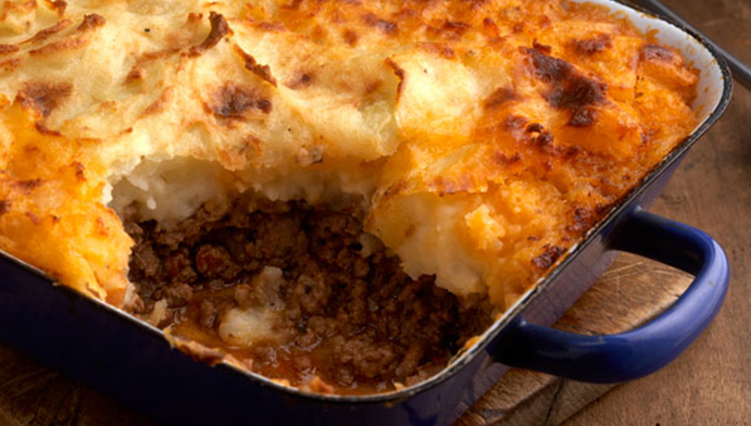 Shepherds' Pie อาหาร อังกฤษ
