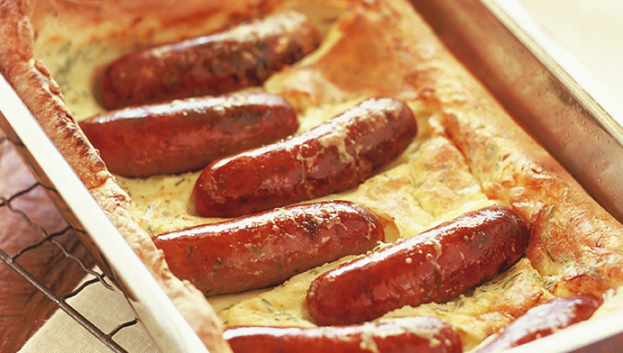Toad in the hole อาหารคนอังกฤษ